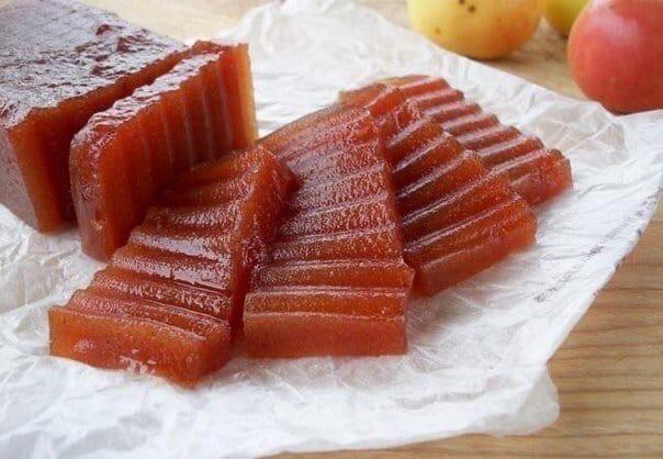 Рецепт для деток «Яблочный мармелад».