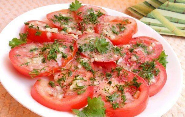 Маринованные помидоры за 10 минут