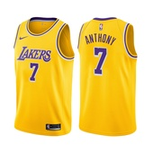 Carmelo Anthony Los Angeles Lakers Icon Edition Gold 2021 Jersey