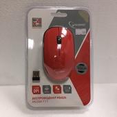 Мышь Gembird MUSW-111-CRL Мышь беспроводная, коралловый, 2кн.+колесо-кнопка, 1200DPI, 2.4ГГц