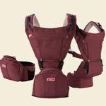 Эргорюкзак + Хипсит Sinbii Premium Hipseat S-Pocket Set, фиолетовый