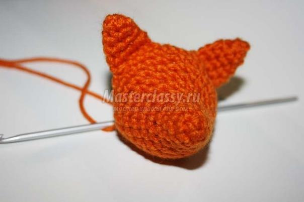 Вязание лисички крючком