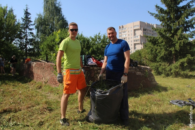 В Череповце до конца лета активисты наведут порядок на 40 территориях. Сегодня с...