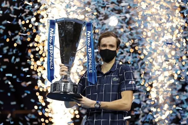 И наконец-то сам Даня с трофеем в руках...