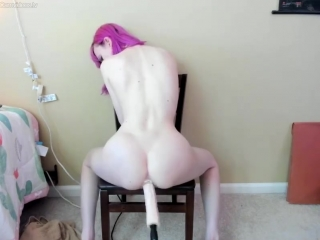 Amateur Solo Anal Insertion