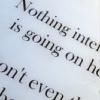 Nothing interesting