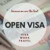 OPEN VISA |  Официальная работа за границей