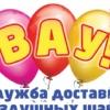 Гелиевые шары Киров | Доставка в течении часа !