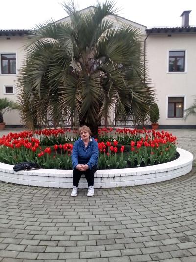 Лидия Гуськова, Москва