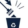 Щетка для уборки за собаками Дворус