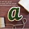 SharkArt Деревянные буквы | Меловые доски