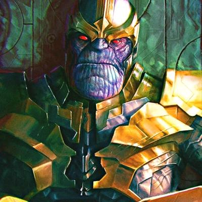 The-Great-Titan Thanos, New York City