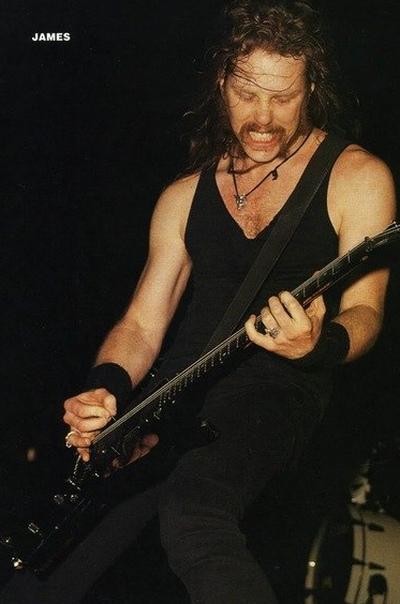 James Hetfield, Liepāja