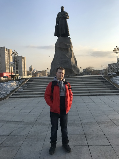 Александр Евграфов, Коломна