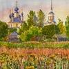 Церковь в честь пророка Божия Илии в с. Селихово