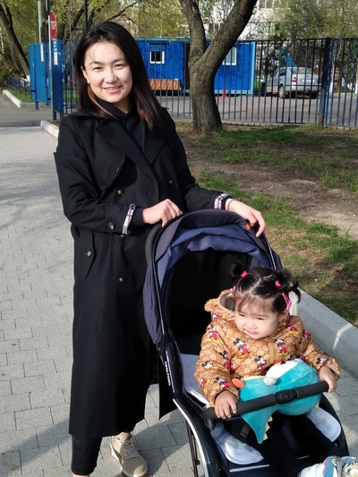 Ай-Герим Жаныш-Кызы, Москва