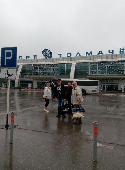 Надежда Русанова, Новосибирск
