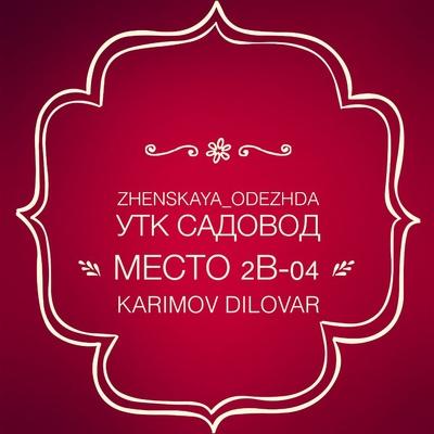 Диловар Каримов, Москва