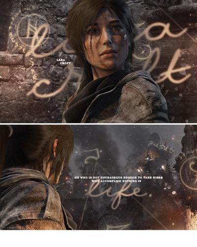 Lara Croft, London