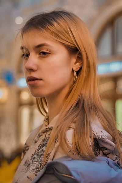 Ксения Чулина, Москва