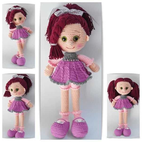 Вязаная куколка. Мастер-класс и описание